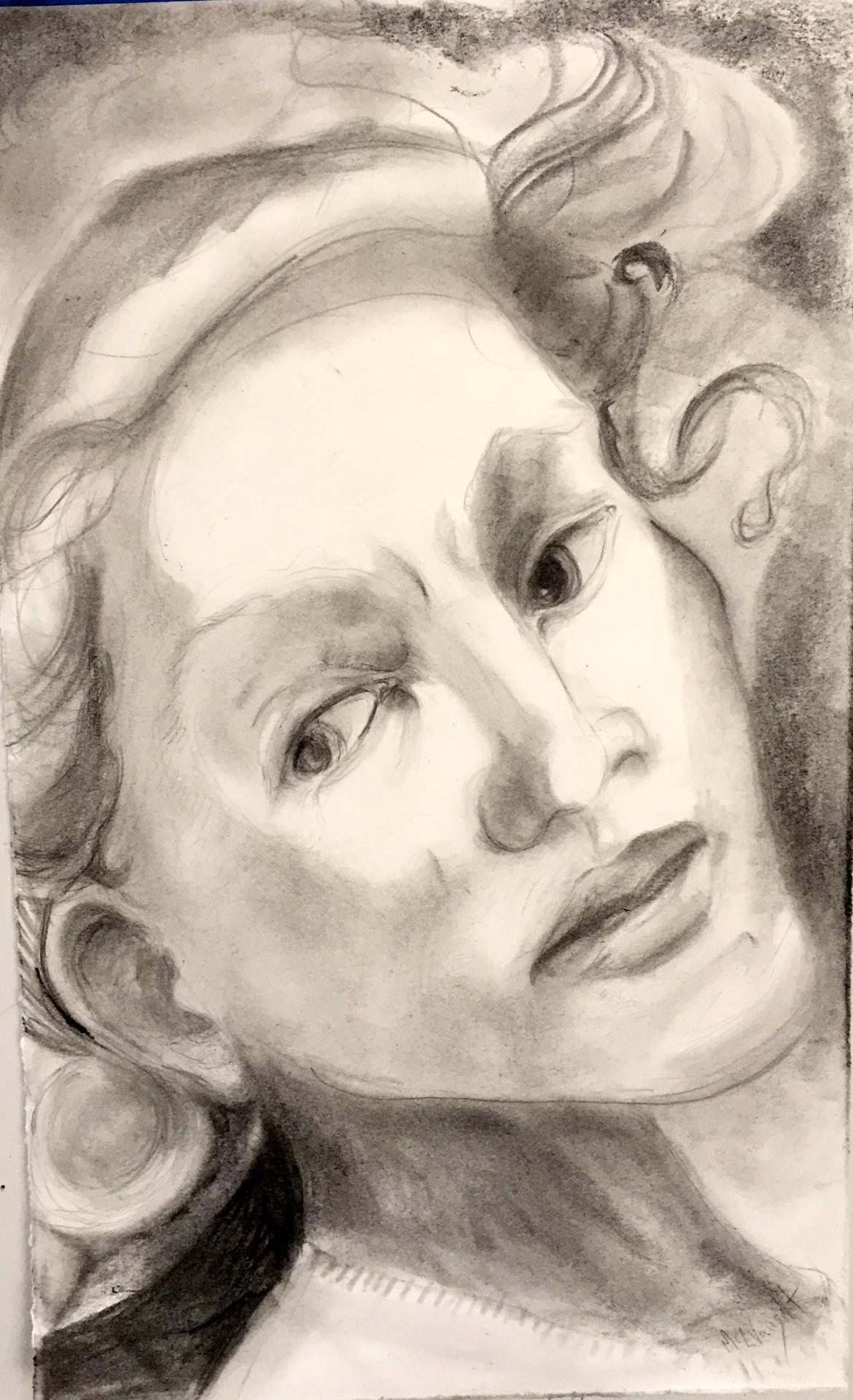 Drawing by Martha Lindenborg Vaught
