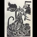 Computer Cats by Martha Lindenborg Vaught