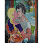 Rob and Aggie Kiss # 3 by Martha Lindenborg Vaught