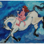 Women on Her High Horse by Martha Lindenborg Vaught