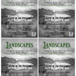 "Arts Illiana juried exhibition, ""Landscapes"" opening July 2, 2021 Terre Haute Indiana"
